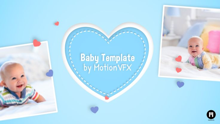 Baby Template arrived! www.motionvfx.com/N2197 #Motion5 #FinalCutProX #FCPX #VideoEditing #Apple #Design