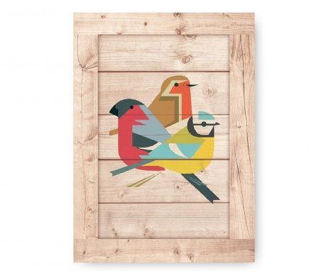 Tablou Three Birds