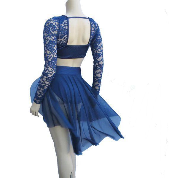 Romantic Lyrical Dance Costume Several by BlackSapphireDesign