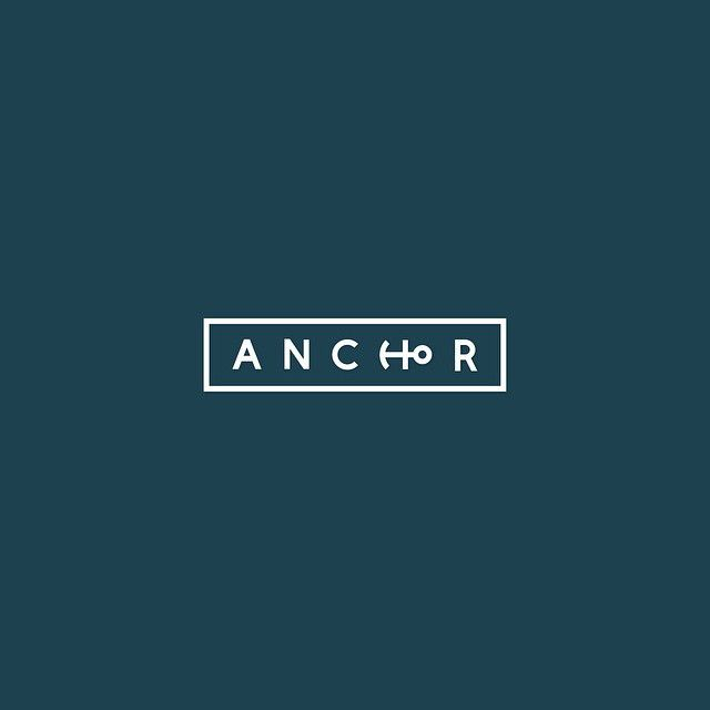 Clever Typographic Logos - Anchor