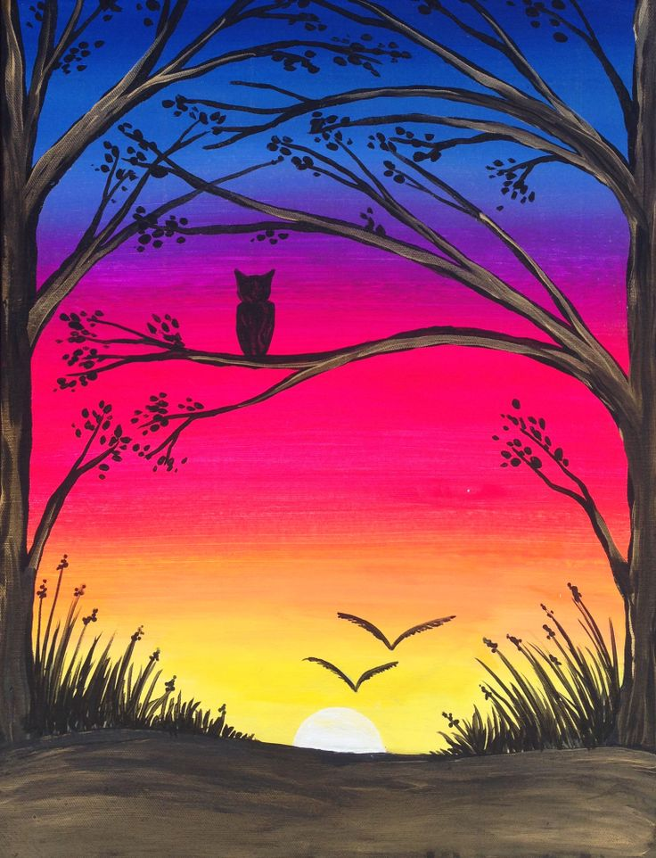 come paint quiet forest at pinotu0027s palette