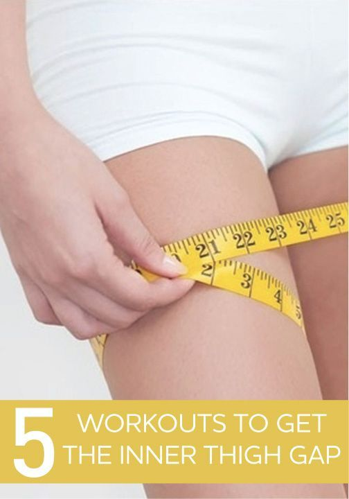 Have you always wanted that gap between your thighs? Click to find out these 5 great workouts to achieve that!