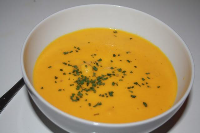 Veganeren: Hot gulrot- og ingefærsuppe