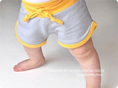 Retro Baby Shorts