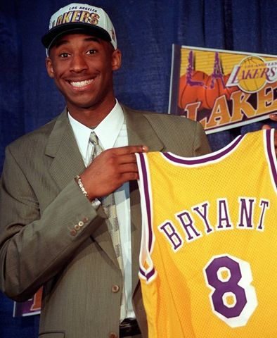 On July 1, 1996, West traded his starting center, Vlade Divac, to the Hornets in exchange for Bryant's draft rights. Since he was still 17 at the time of the draft, his parents had to cosign his contract with the Lakers until he was able to sign his own when he turned 18 before the season began.
