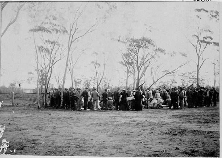 066380PD: Afghans praying at burial of Hadji Mulla, Coolgardie, 1897.  http://encore.slwa.wa.gov.au/iii/encore/record/C__Rb3803780__SAfghans%20--%20Western%20Australia%20--%20Coolgardie%20--%20Photographs.__P0%2C3__Orightresult__X3?lang=eng&suite=def