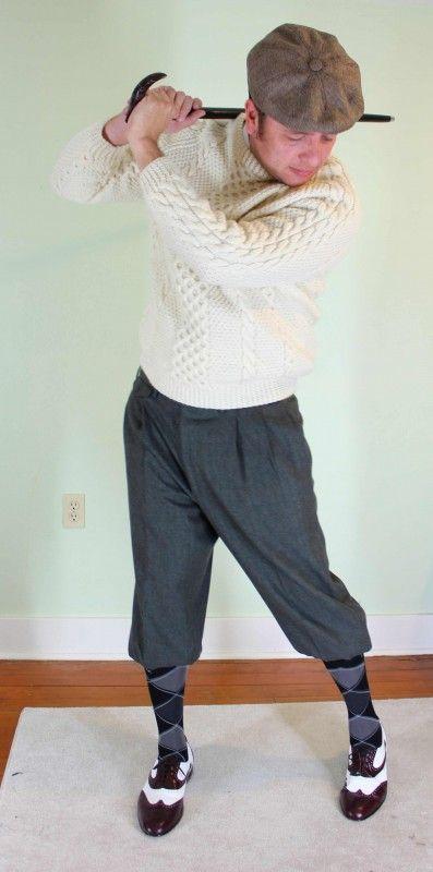 Etre élégant pour un epartie de golf !