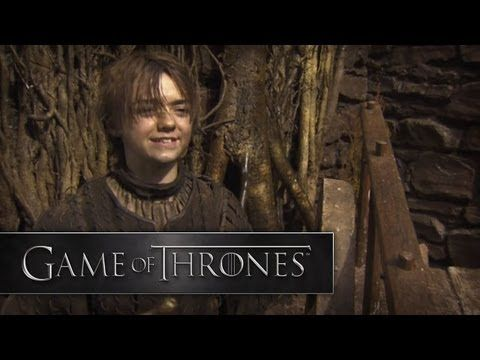 Game of Thrones: Season 2 |  Making Of: Arya Stark's New Look [HBO] [+playlist]