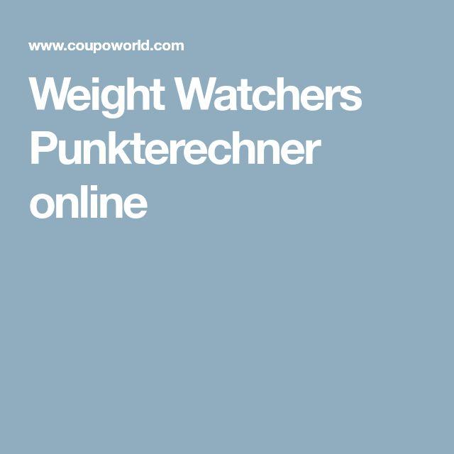 weight watchers punkterechner online gesundheit in 2019 pinterest weight watchers. Black Bedroom Furniture Sets. Home Design Ideas