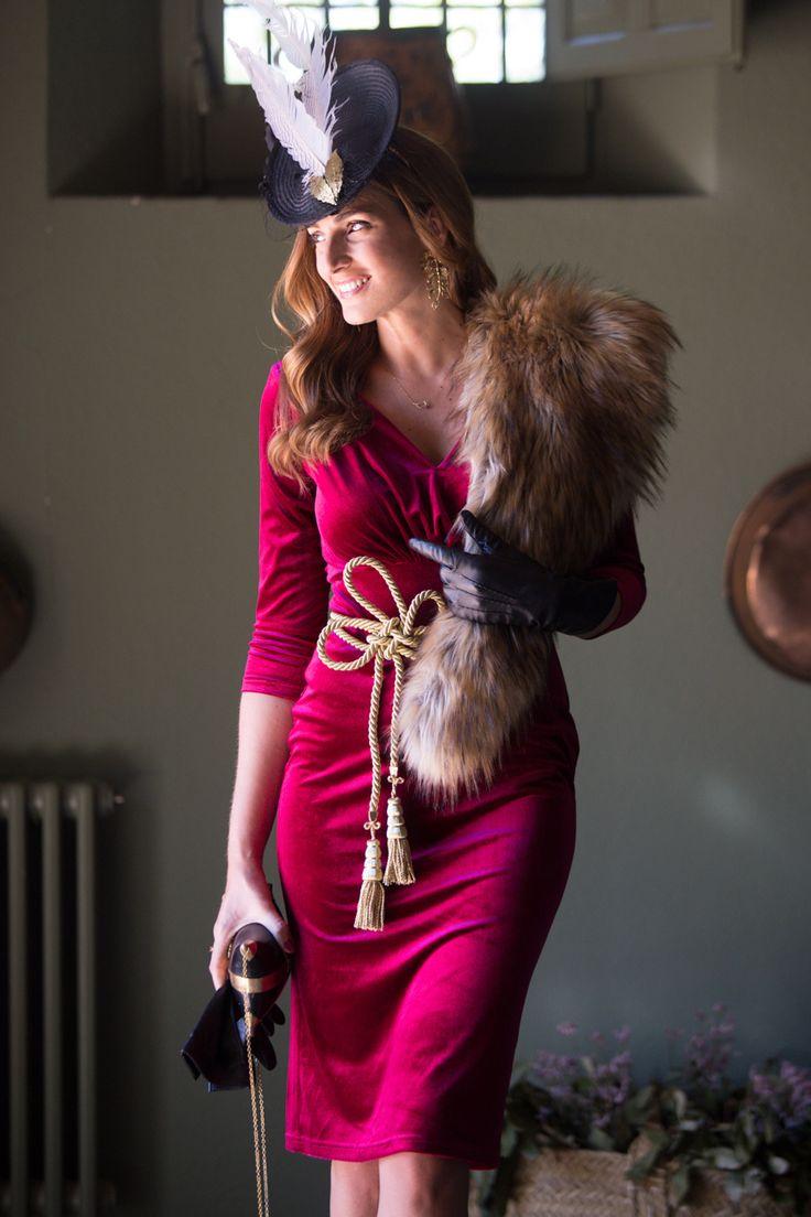 Look invitada boda: red velvet-13023-misscavallier