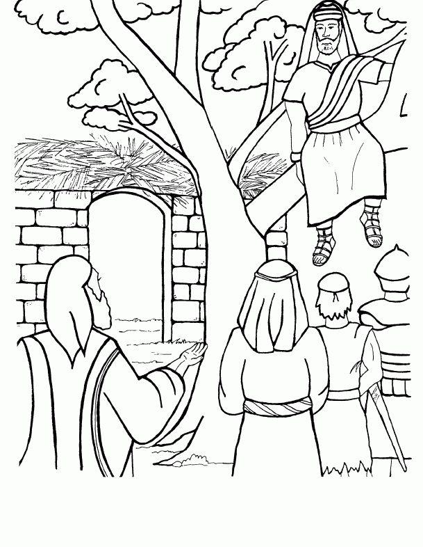 25 Best Ideas About Zacchaeus On Pinterest Bible Crafts Zacchaeus Coloring Pages