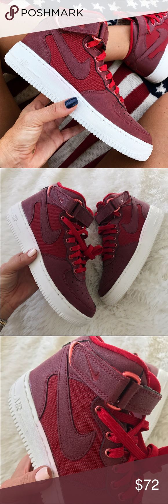 NEW  NIKE AIR FORCE 1 MID SZ 6.5 youth | 8 WOMAN NEW  NIKE AIR FORCE 1 MID SZ 6.5 youth | 8 WOMAN Nike Shoes Athletic Shoes