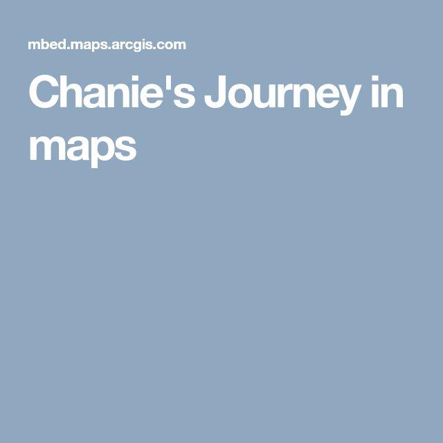 Chanie's Journey in maps