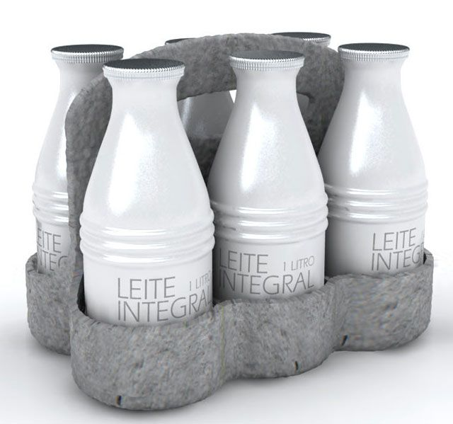 Aluminum melk verpakking. Dat is weer eens wat anders dan karton. #Milk #Packaging #Design
