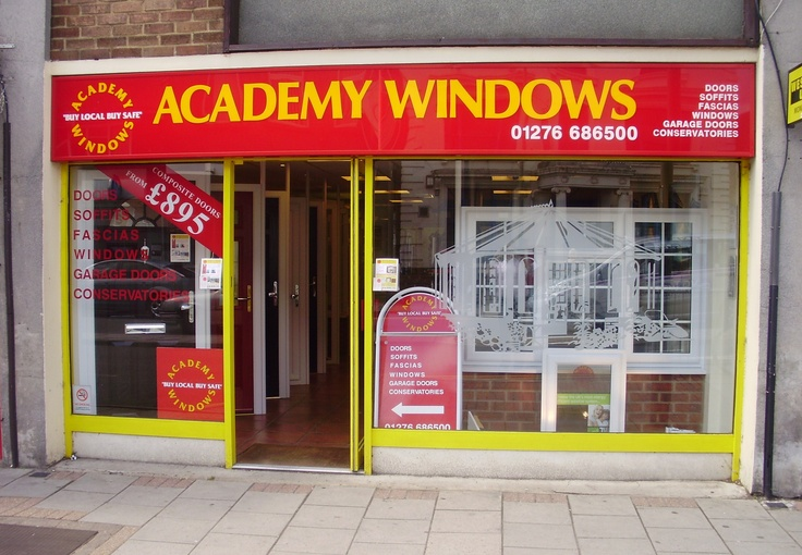 Academy Windows Frimley showroom. Double Glazing Windows, Doors, Conservatories, Kitchens, Bedrooms  http://www.academywindows.co.uk/?page=Frimley http://www.academywindows.co.uk/?page=Showrooms