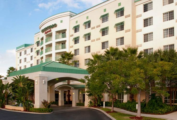 Rest up before your flight or cruise at the Courtyard Fort Lauderdale Cruise Port Hotel -Fort Lauderdale.