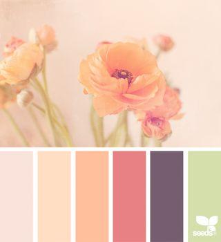 #Farbberatung #Stilberatung #Farbenreich mit www.farben-reich.com Flora Tones   design seeds   Bloglovin'