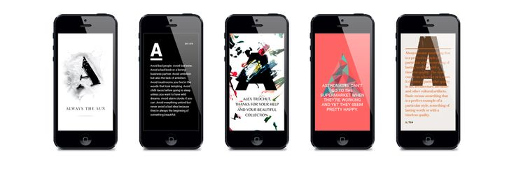 Free Typography App for iOS, Android and Web - Image 4   Gallery