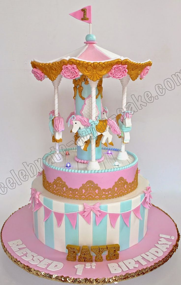 Cake Design Carousel : 330 best images about Cakes - Carousel on Pinterest