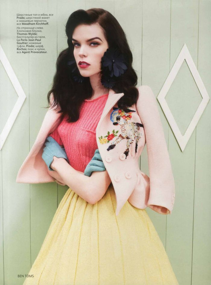 Betty Page Style 50's Retro Fashion Photos - Vogue Russia