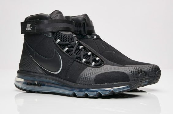 separation shoes 5d833 6146c Get Ready For The Kim Jones x Nike Air Max 360 High Black The Kim Jones
