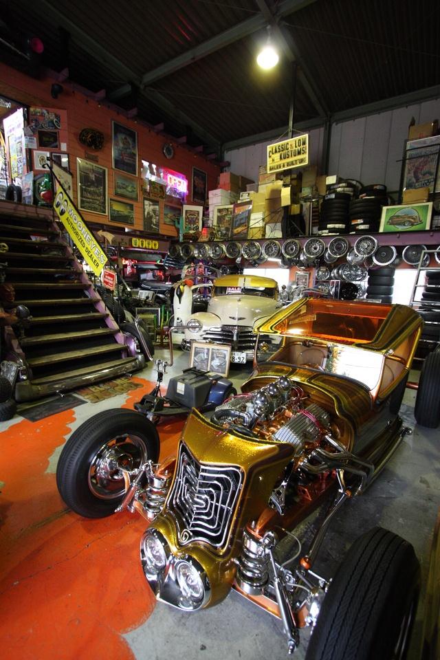 Hot Rod Garages Home : Best images about workshop hot rod garage on