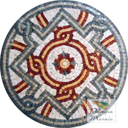 MD018 Marble Mosaic Medallion