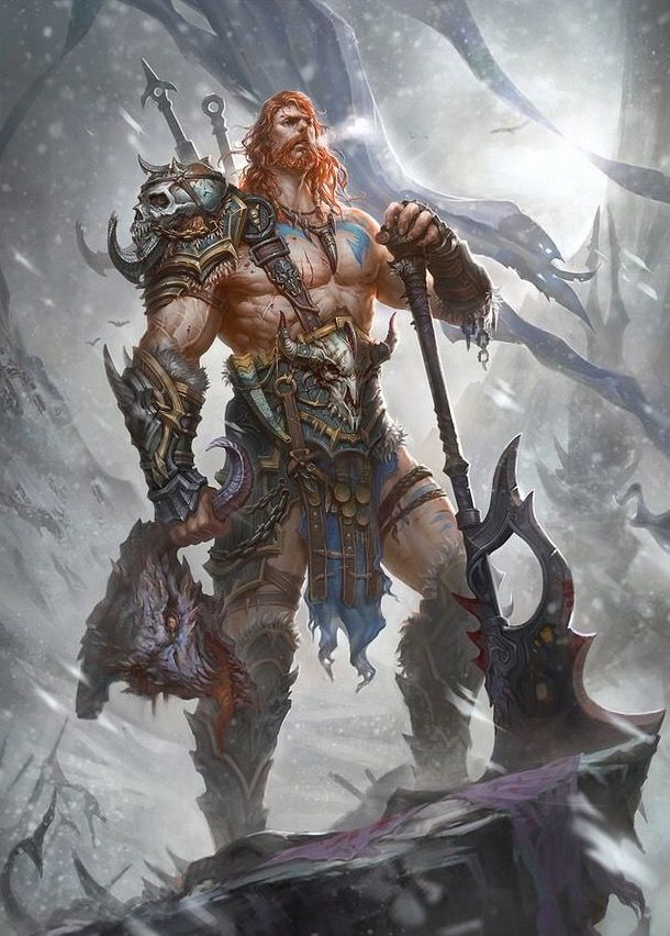 Deviantart Berserker Viking Warriors Art