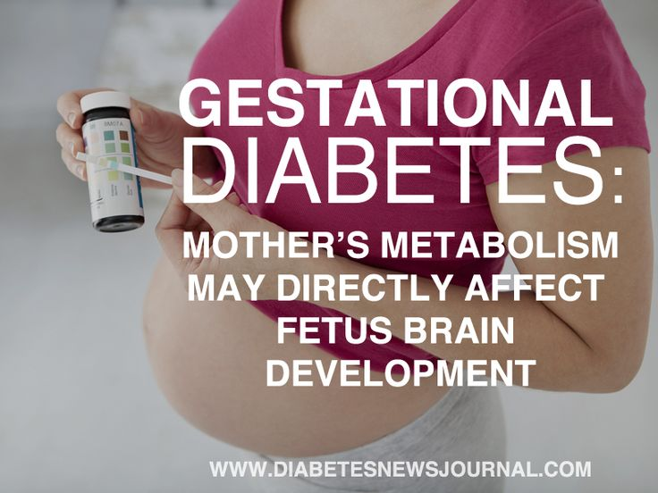 Read more about Gestational Diabetes and How Mother's Metabolism May Affect Fetus Development