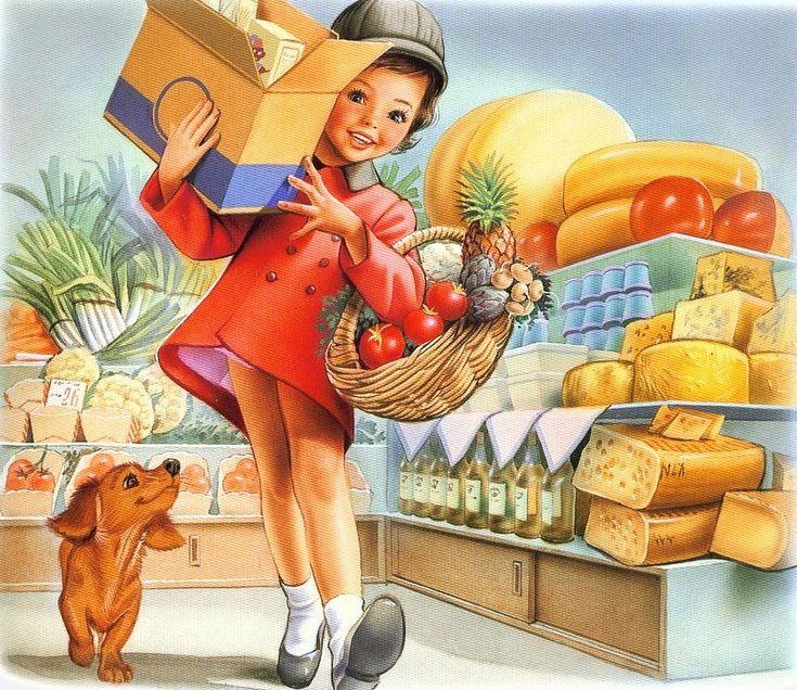 Martine fait ses courses ♥♥