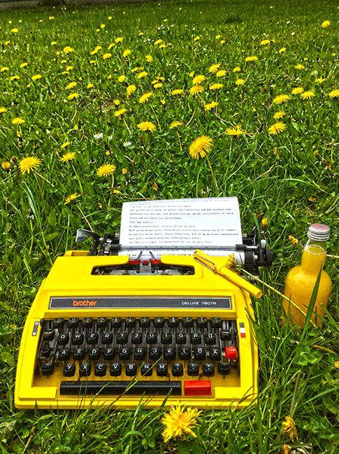 writing places, Schreiborte, Schreibutensilien, Schreibmaschinen, Schreibtische ...