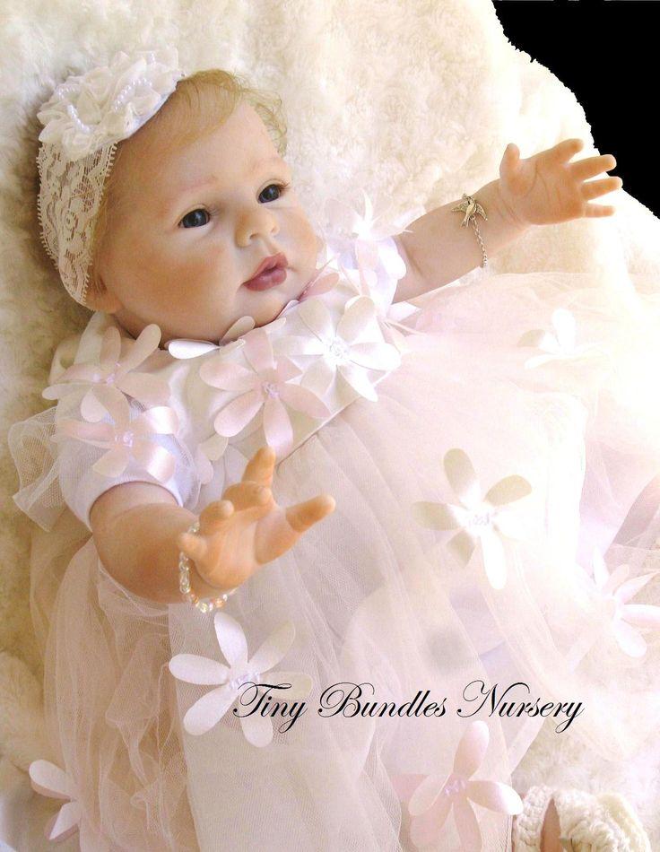 Honey by Donna RuBert reborn by Tiny Bundles Nursery