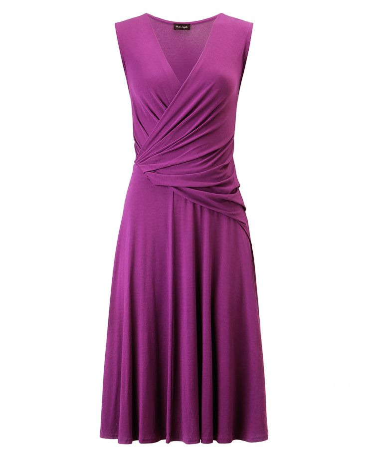 Dresses | Pink India Drape Wrap Dress | Phase Eight