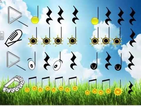 """Musicograma """"La cara del sol"""" - YouTube                                                                                                                                                                                 Más"""