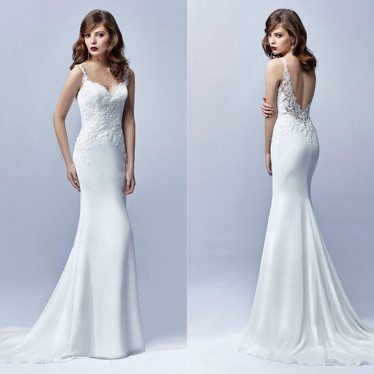 Best 25+ Fishtail Wedding Dresses Ideas On Pinterest