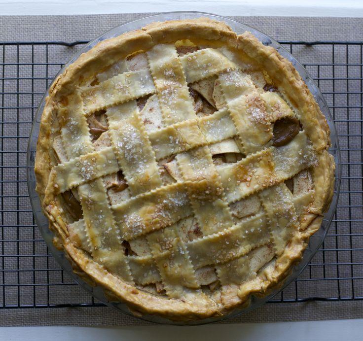 Kuchen de manzana y manjar / Apple Dulce de leche pie | En mi cocina hoy