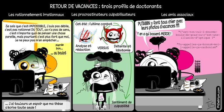 doctorat vacances doctorant