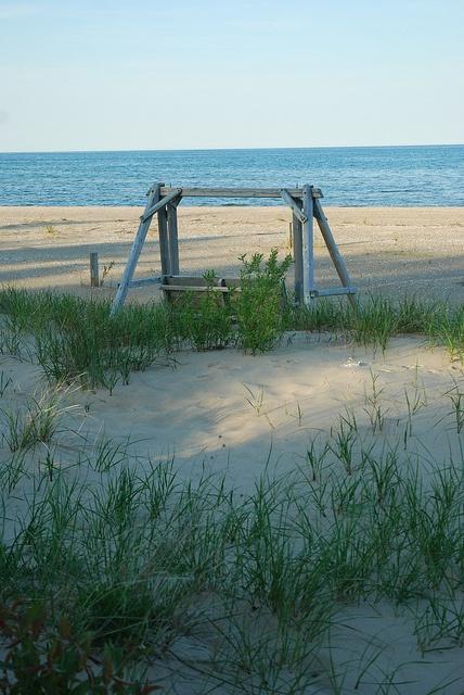 Lake Huron beach in Oscoda - LOVE!