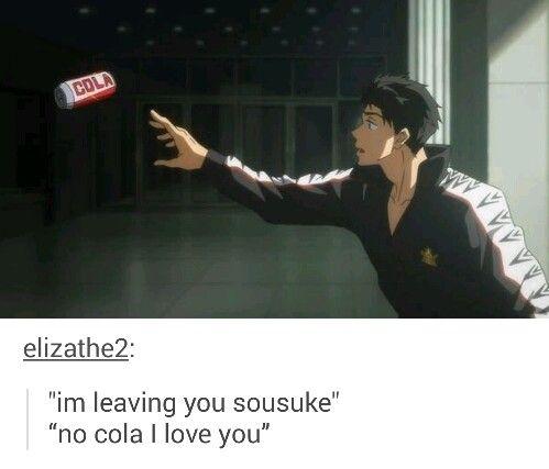 Sousuke x Cola -- Free! Eternal Summer