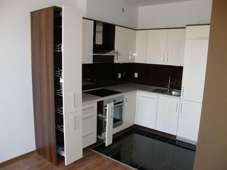 Meble kuchenne - realizacja FILMAR meble www.filmarmeble.pl   #szuflady #meblekuchenne #kuchnia #biała #białefronty #panele #płytki