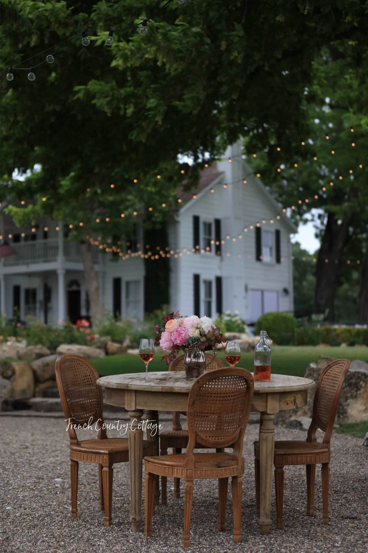 5 Tips For Creating A Beautiful Inspired Table And A Sneak Peek French Country Cottage In 2020 French Country Cottage Bistro Table Outdoor French Country Style Decorating