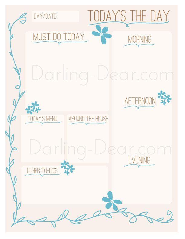 Best 25+ Cute daily planner ideas on Pinterest   Cute binder ideas ...
