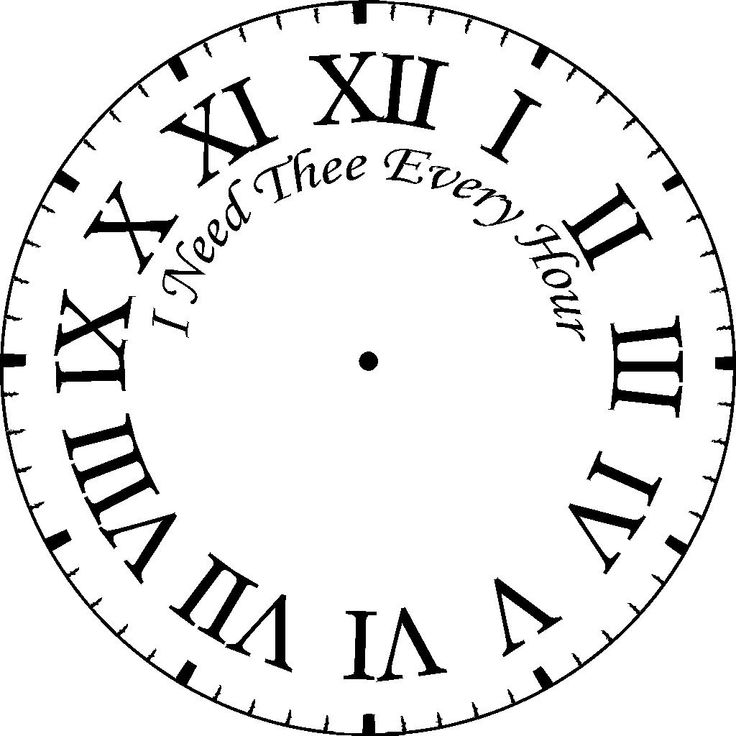 blank clock clipart. windmill lettering co blank clock clipart a