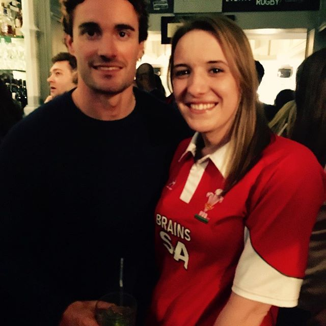 Met Scottish international rugby team player and Strictly Come Dancing star @te11 on Friday night in Chelsea! Thom Evans rocks. ☺️ 💋👍🏼#rugby #london #mtf #potd #picoftheday #look #love #life #friday #sports #trans #lgbt #rolemodel #motivation