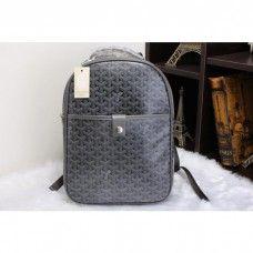 Goyard Backpack 8990 Dark Grey