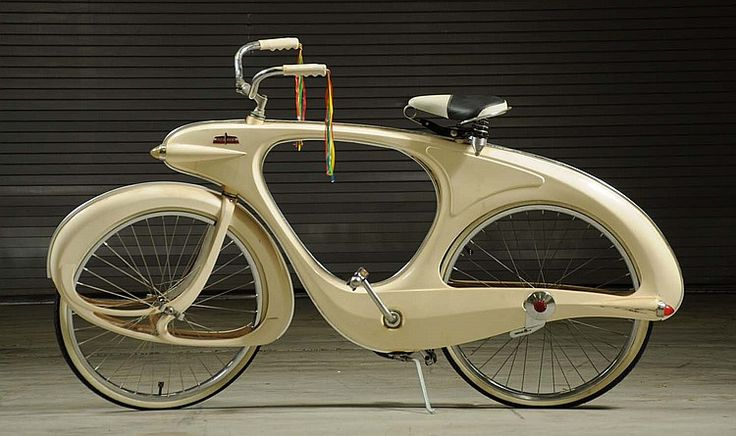 Bowden Art Deco Style Balloon Tire Bicycle. - by Morphy Auctions