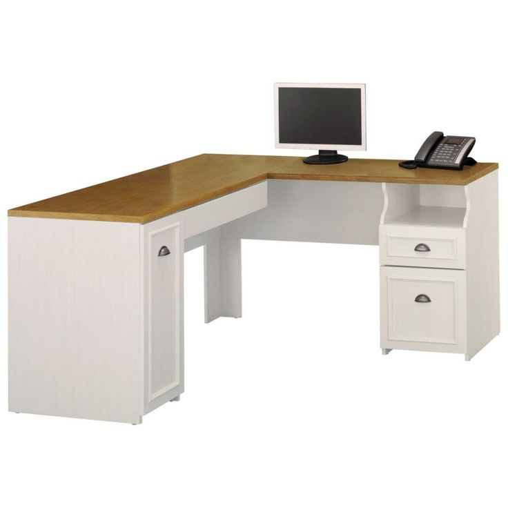 IKEA Workspace Ideas   Brown Wooden Tabletop Ideas Of Ikea Corner Desk With  Hutch And Drawers