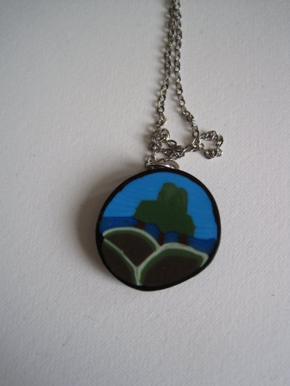 Tree Upon A Hill Pendant