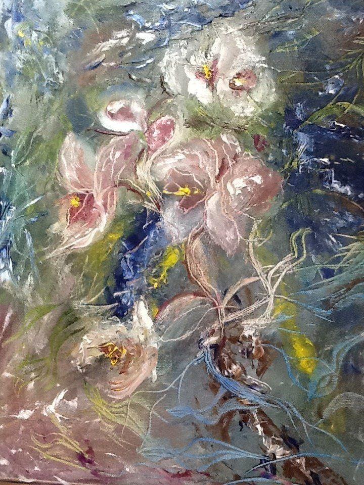 """Купить Картина маслом """"Душа Орхидеи"""". Cделать на заказ. Магазин рукоделия Крафтбург   арт.:3674"""