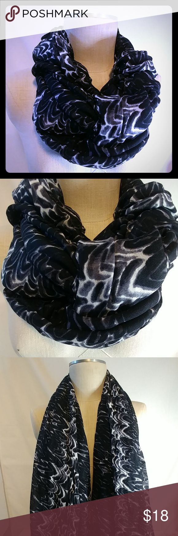 Stella Dot Union Square Painted Zebra Scarf